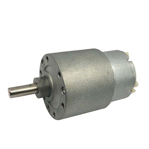 Saim 12V DC 0.07A 3.5 RPM 37mm Micro High Torque Gear Box Electric - Electric Accessories Gears