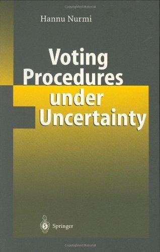 Download Voting Procedures under Uncertainty Pdf