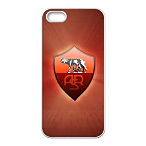 iPhone 4 4s Cell Phone Case White As Roma Logo Vtxt