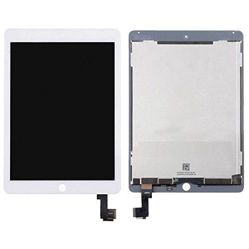 LCD Display Touch Screen Digitizer Assembly for iPad Air 2 A1566 A1567 White (For Air 2 Ipad Screen Lcd)