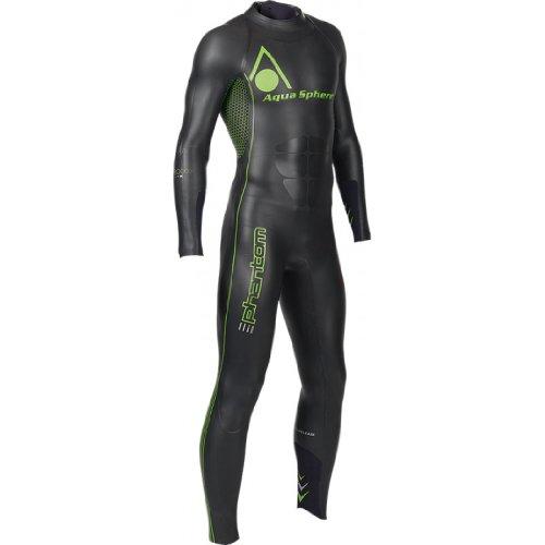 Neopren Anzug Phantom Herren schwarz-grün S
