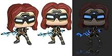 Pop! Marvel: Avengers Game- Black Widow (Stark Tech Suit) w/GW Chase ( Edición Especial)