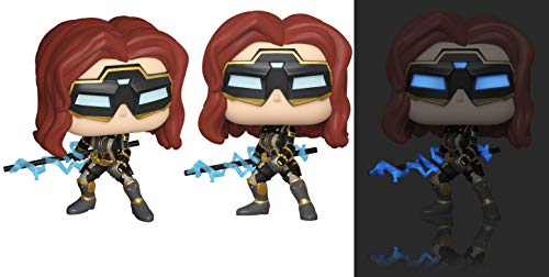 Pop! Marvel Avengers Game- Black Widow (Stark Tech Suit) w/GW Chase (Edicion Especial)
