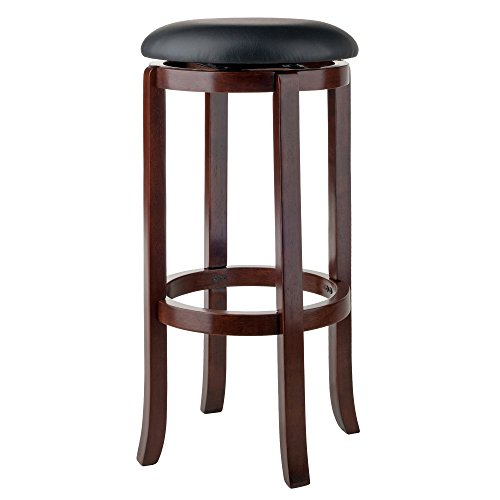 Winsome Wood 94160 Walcott Swivel Bar Stool, 30'' by Winsome Wood