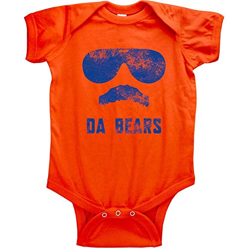 Original Vintage Da Bears Infant Bodysuit (6M, Da Bears - Baby Chicago Clothes Bears