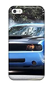 Faddish Phone Smoke Coming Out Blue Car Tires Case For Iphone 5/5s / Perfect Case Cover