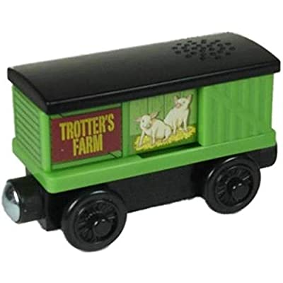 Learning Curve Trotters Pig Box Car - Thomas Wooden Railway Tank Engine Train Loose: Toys & Games