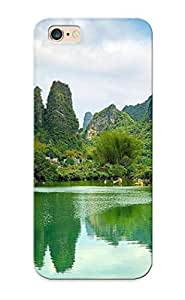 Iphone 6 Plus Scratch-proof Protection Case Cover For Iphone/ Hot Karst Mountains, China Phone Case