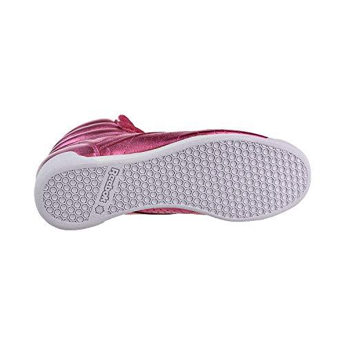 Classic White white Trainers Sharp Reebok Womens Pink wSZ5nq