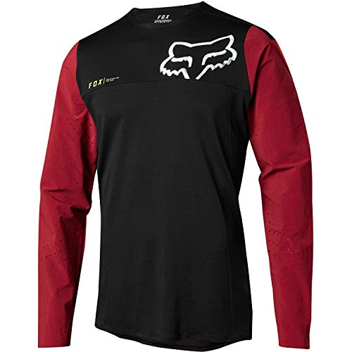 Fox Racing Attack Pro Jersey - Men's Red/Black, L ()