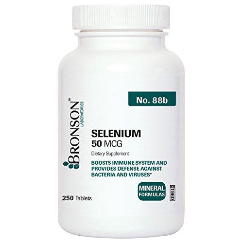 Bronson Labs Selenium Mcg tablets product image