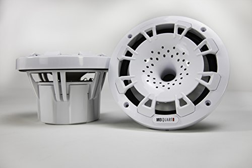MB Quart NH1-116W Two Way 6.5 inch Compression Horn Speaker with Poly Cone, Packaged in Pairs. (White)