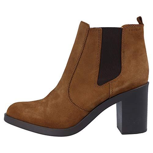 Brown Bootees Boots Bootie TG ESPRIT Women's Shane BqYUYwz