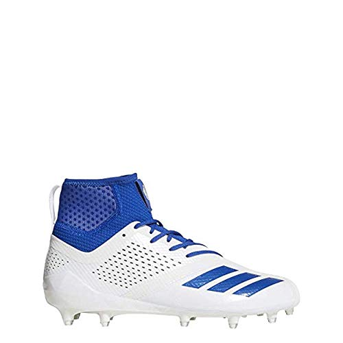 sale retailer 88e21 53871 adidas New Men s Size 7 Adizero 5 Star 7.0 SK Football Cleat White Royal  DA9563
