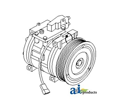 Amazon Com Al154203 Compressor Denso Fits John Deere Industrial