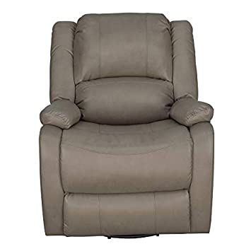 Set of 2 RecPro Charles Collection 30 Swivel Glider RV Recliner RV Living Room Slideout Chair RV Furniture Glider Chair Putty