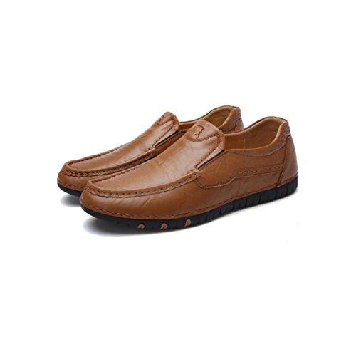 De Chaussures De Noir Sport Sandales D'affaires Sport Hommes Brown Souliers Marron Automne en Jaune Chaussures Dentelle Printemps pour Toile 4Hax8I