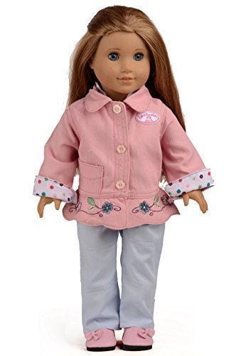 Sweet Dolly Doll Clothes for 18 Inch American Girl Dolls 2PC