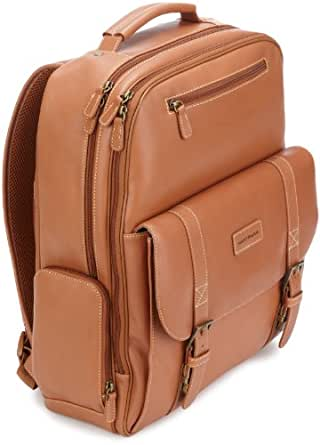 Hartmann Belting Leather Saddle Backpack, Natural, One Size