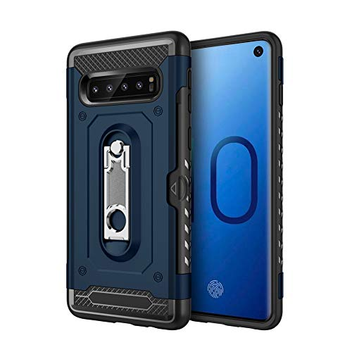 Lxlfcase Compatible for Samsung Galaxy S10 Plus Case - Armor Series  Military Grade Rugged Cases with Built-in Kickstand Card Slot Cover for  Samsung Galaxy ... c4d85aab0