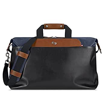 Solo Montauk Duffel Bag with Laptop and Tablet Protection, Navy, One Size