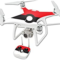 Skin For DJI Phantom 4 Quadcopter Drone – Battle Ball | MightySkins Protective, Durable, and Unique Vinyl Decal wrap cover | Easy To Apply, Remove, and Change Styles | Made in the USA