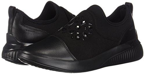 D Infilare C9999 Nero black A Sneaker Theragon Geox Donna qwCdvq