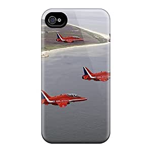 First-class Case Cover For Iphone 4/4s Dual Protection Cover F22 Redarrows