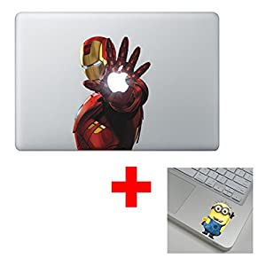 Ironman Macbook Graphic Skin Design Air Pro Stickers Buy 2 Get 1 Free Sticker
