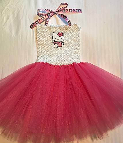 Hello Kitty Tutu Dress Up Costume (3T - -