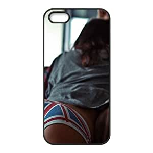 iPhone 5 5s Cell Phone Case Black Lazy Day Girl Uk Sofa SUX_083122