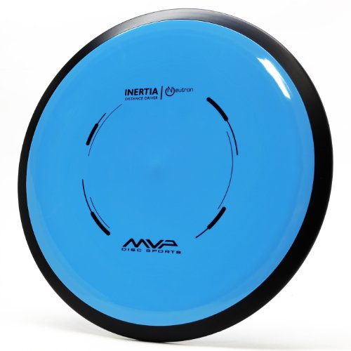MVP Disc Sports Neutron Inertia Distance Driver - Understable Golf Disc - Unmatched Gyro Push - 20mm, 150-160g - Colors May Vary