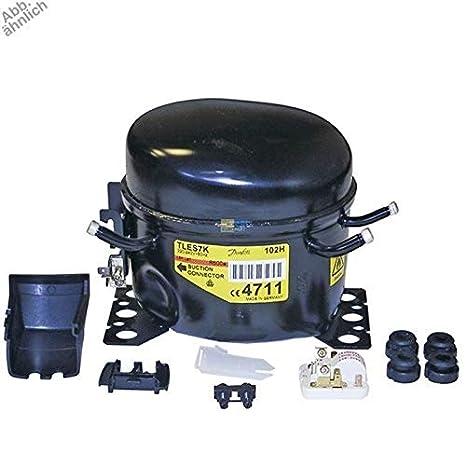 Compresor R600 A 1/6PS Danfoss Frigorífico c00144758 Ariston ...