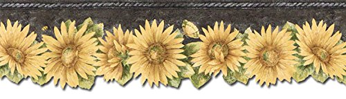 Border TH29023DB (Blonder Home Sunflowers)