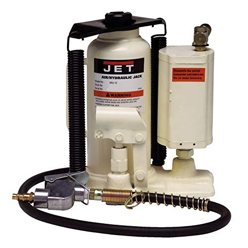JET AHJ-20 20-Ton Air/Hydraulic Bottle Jack with Case
