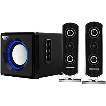 41xAedoF0WL._SL500_AC_SS350_ amazon com sharper image sbt2003bk 2 1 speakers with subwoofer  at reclaimingppi.co