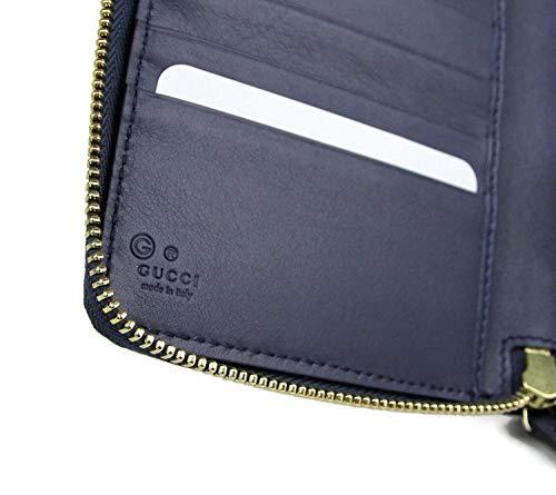0489fb23062c Gucci Women's Guccissima Leather Wallet Zip Around Travel Clutch 321117