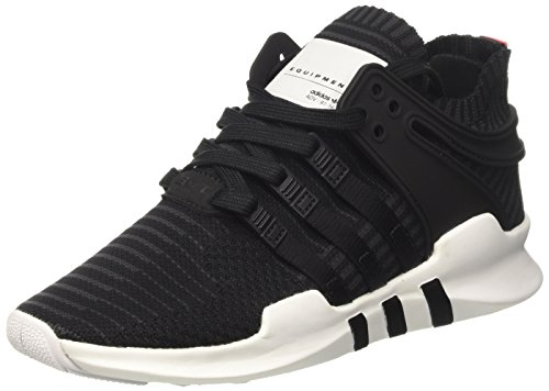 adidas Equipment Support Adv Pk - deportivas bajas Unisex adulto Negro (Core Black/core Black/turbo)