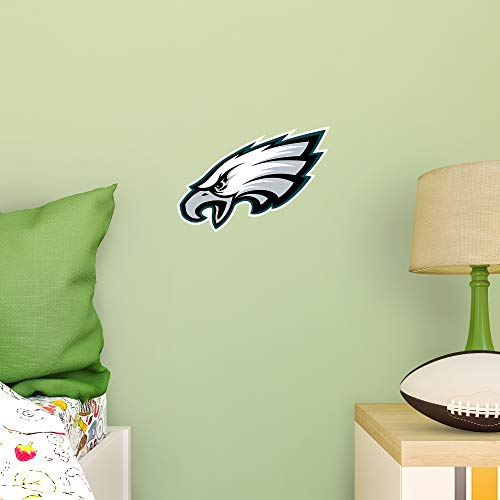 FATHEAD NFL Philadelphia Eagles - Logo Teammate- Officially Licensed Removable Wall Decal, Multicolor, Big, Large ()