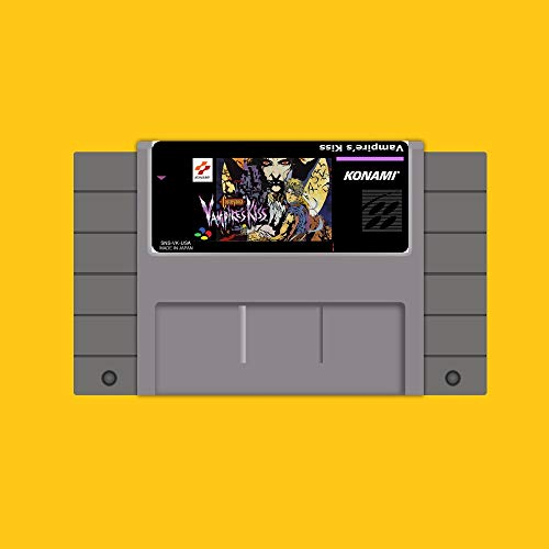 Castlevania vampires kiss 16 Bit Game Card For USA NTSC Game Player