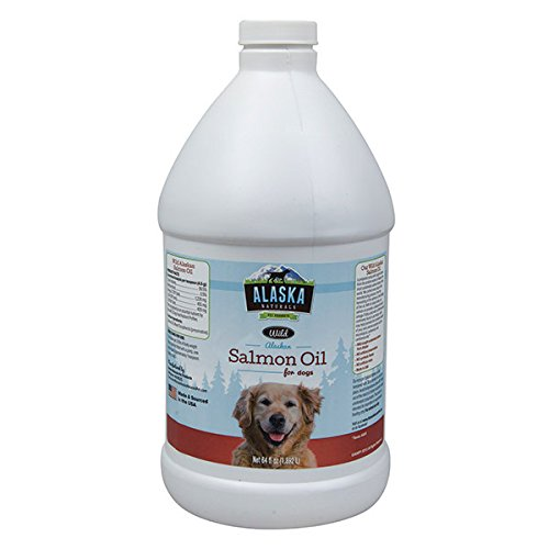 Alaska Naturals Salmon Oil for Dogs, 64 oz