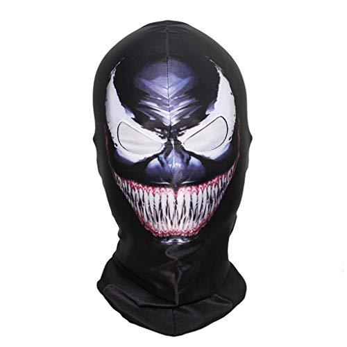 WONNA Beanie Hat Hero Venom Mask Halloween Full Face Classic Cosplay Stocking War Game Mask