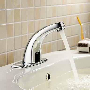 Lozse massivem Messing Waschbecken Wasserhahn mit automatischer Sensor (kalt)
