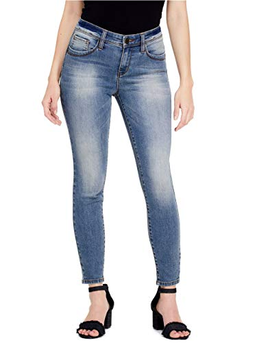 GUESS Factory Women's Beyla Curvy Mid-Rise Skinny Jeans - Clothing Designer Guess