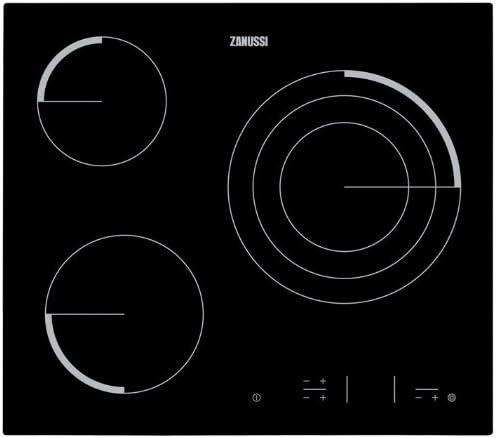 Zanussi Z6123IOK - Placa Vitrocerámica Z6123Iok Con 3 Zonas Hi ...