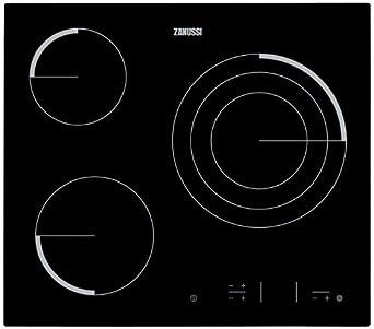 Zanussi Z6123IOK - Placa Vitrocerámica Z6123Iok Con 3 Zonas Hi-Light