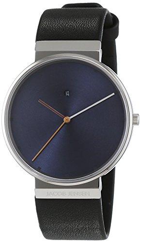 Vorschaubild JACOB JENSEN Herren  Armbanduhr Leder