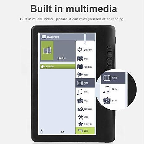 PKJI E-Reader - Grafito, Pantalla de Alta resolución de 7 ...