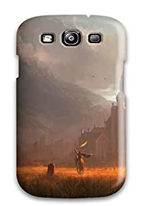 Fashion Tpu Case For Galaxy S3- Castle Fantasy Abstract Fantasy Defender Case Cover