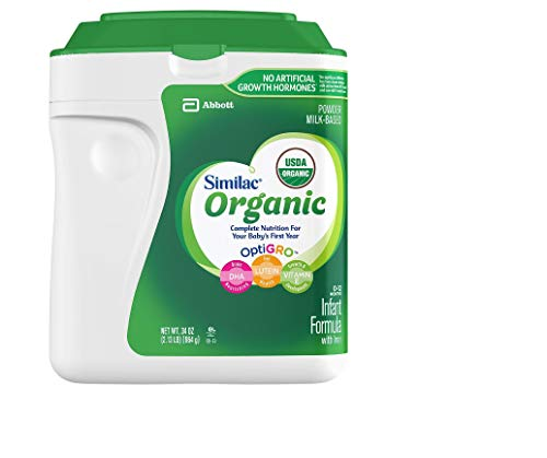The Best Organic Baby Formulas: 2019 Recommendations